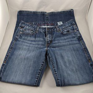 Levi's 553 Mid-Rise Bootcut Jeans 6S/W28